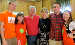 I love my family (and John and Corey's girlfriend, Morgan!), but sorry guys! You're people, not things!