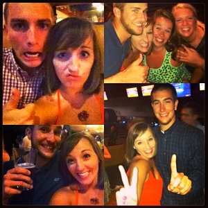 Blurry but a blast: shameless selfies, great friends, and bowling at Park Lanes added up to a great birthday night!