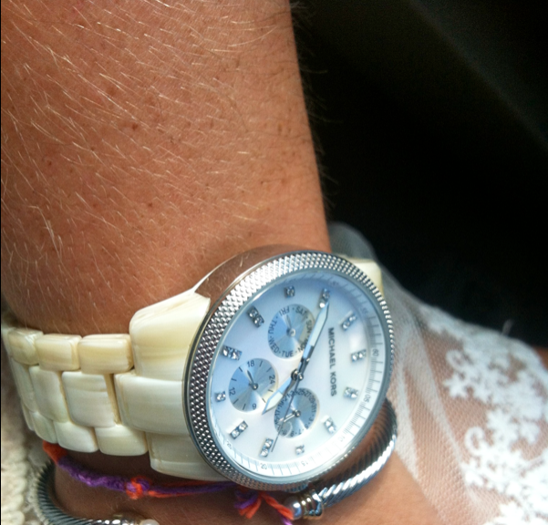 One of the perks of the job? Sweet arm candy like this Clemson-themed friendship bracelet from Kennedy :)