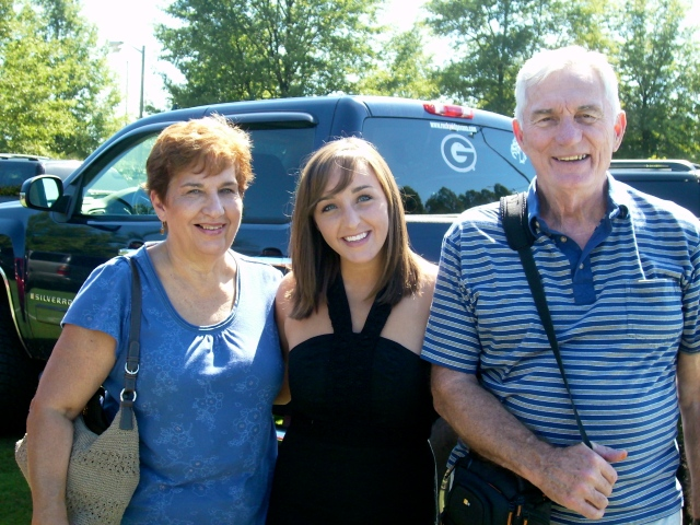 I love my grandparents- one of the things I miss the most about Wofford is hanging out with them on a regular basis!