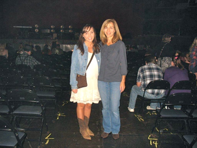 Mom/Kathy and me before one of my favorite nights of my life- the Taylor Swift Speak Now concert.