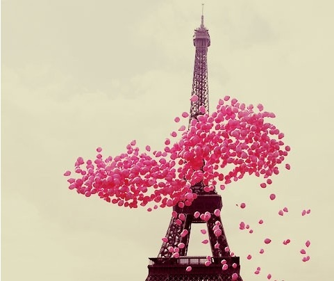 Nothing could be better than pink in Paris!