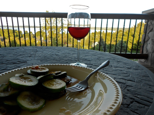 It doesn't get much better than this. I had some cherry wine while I was up north and oh my gosh. So sweet and so good.