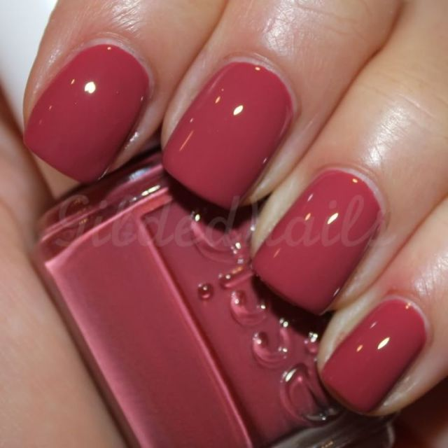 Loving Essie's Raspberry Red.