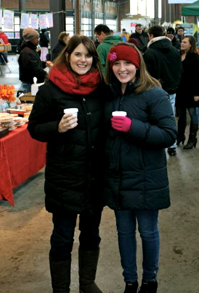 Jana and me last December at Detroit's Eastern Market!