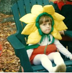 Sunflower wasn't one of my favorite Halloween costumes at the time, but boy do I love it looking back!