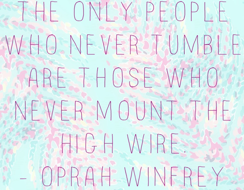 Preach, Oprah. Preach.