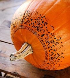 stencil pumpkin
